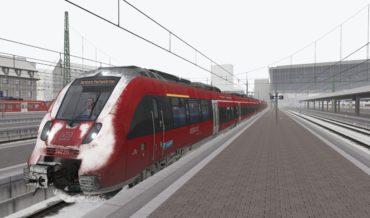 RB5421 nach Garmisch