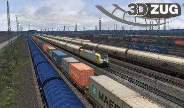 3DZUG Verkehrspack Güterwagen